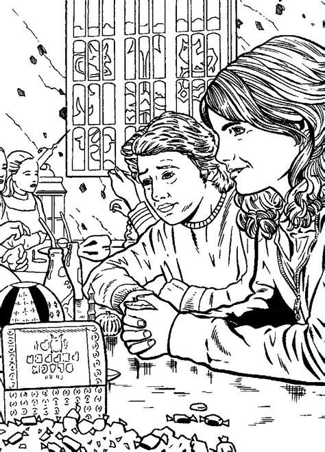 harry potter coloring pages from the chamber of secrets coloring pages harry potter picture 68