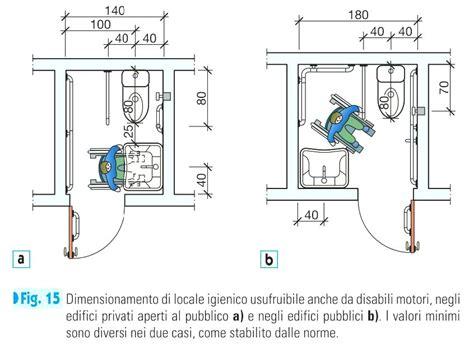 misure minime bagni normativa bagno disabili locali pubblici theedwardgroup co