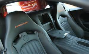 Inside Bugatti Veyron Sport 2011 Bugatti Veyron 16 4 Sport Interior