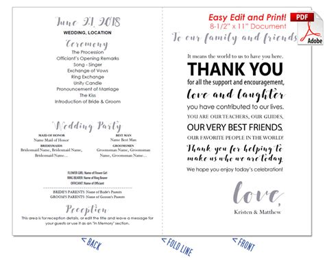 thank you letter to s parents after wedding thank you message wedding program fan cool colors