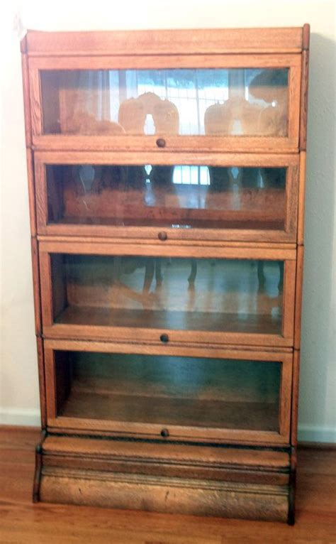 Antique Lawyers Bookcase antique lawyers barrister bookcase vintage