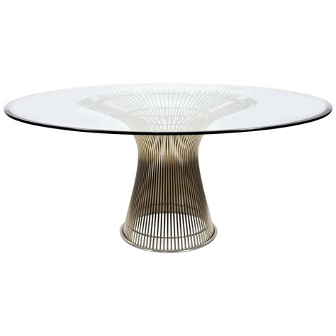 platner dining table warren platner for knoll dining table at 1stdibs