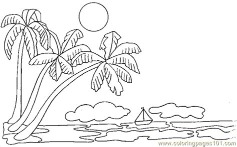 printable coloring pages palm tree printable palm tree free printable coloring page