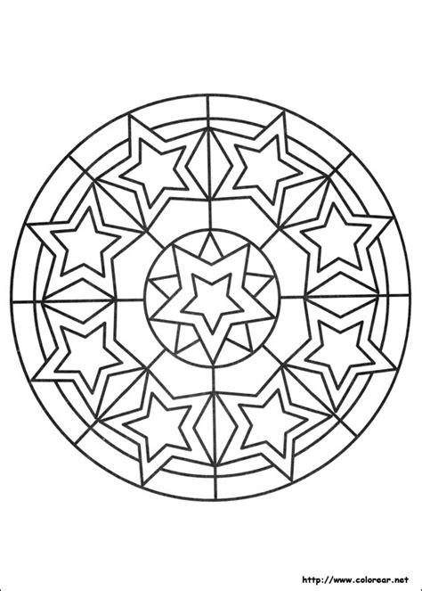 imagenes de mandalas rectangulares dibujos para colorear de mandalas