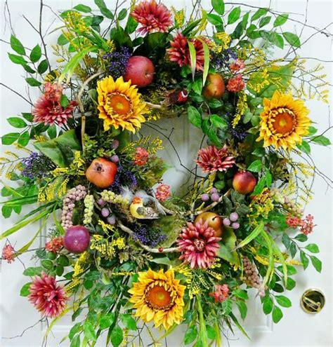 summer wreath ideas google search gardening pinterest