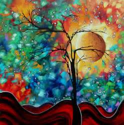 modern paint abstract art paintings flowers