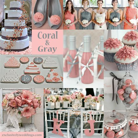 wedding colour schemes grey gray wedding color the new neutral exclusively weddings