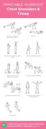 chest shoulder tricep workout at home eoua