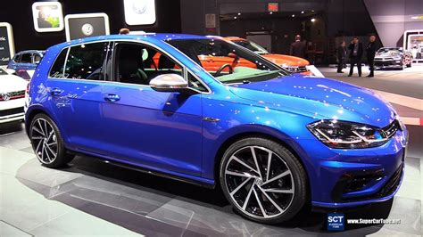 Golf R New York Auto Show by 2018 Volkswagen Golf R 4motion Exterior And Interior