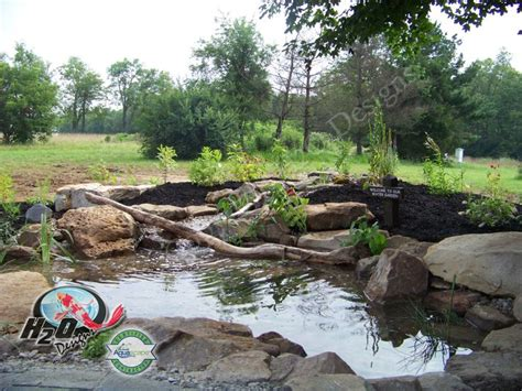 backyard ecosystem koi pond in in winchester kentucky ky pond contractor