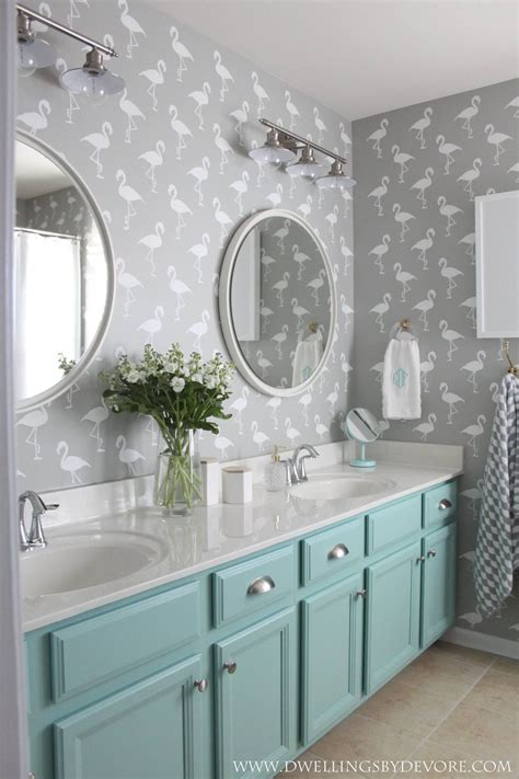 Turquoise And White Bathroom by Turquoise And White Bathroom Blueridgeapartments