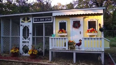 backyard chickens coop backyard chickens coop design rise and shine cottage youtube