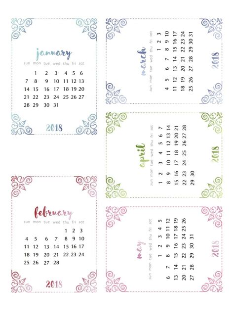 Calendã Escolar 2018 25 Best Ideas About Printable Calendars On