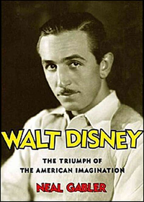 biography or autobiography book list neal gabler inside walt disney npr