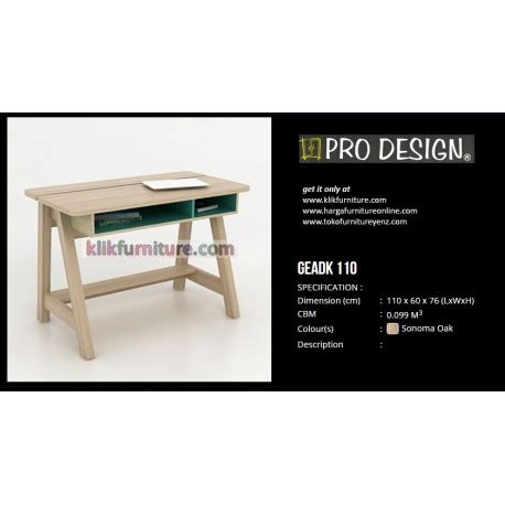Meja Kantor Pro Design harga meja geadk 110 pro design harga promosi diskon