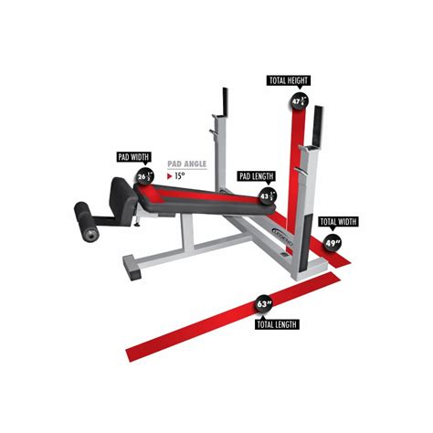 weight bench olympic legend fitness decline olympic weight bench 3109