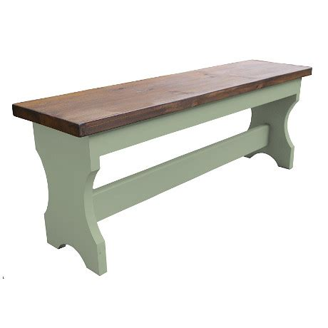 rustic bench seat bench seat shaped sides rustic dark top kerris