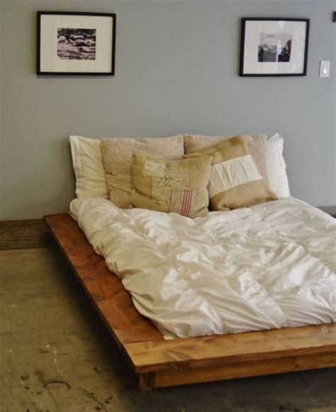 bed frames that sit on floor 25 best ideas about floating bed frame on