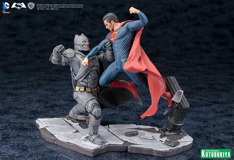 Kotobukiya Artfx Statue Superman kotobukiya dc comics batman vs superman artfx statue set tv