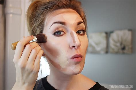 where do you put your makeup on how to highlight and contour makeup tutorial wonder forest