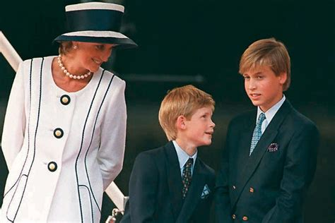 princess diana sons lovely photos of princess diana with her sons princes