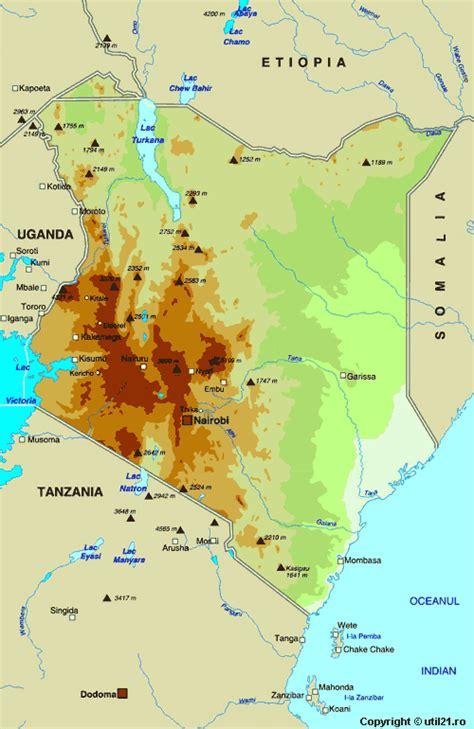 kenya on a world map map of kenya maps worl atlas kenya map maps
