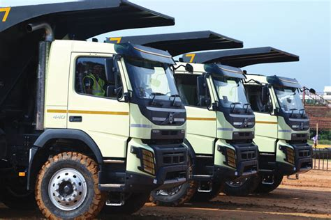 volvo truck price in india volvo india unveils tipper trucks tractor trailer