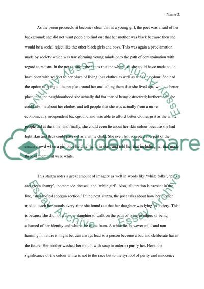 White Lie Essay by White Lies By Trethewey Essay Exle Topics And Well Written Essays 500 Words