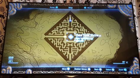 legend of zelda map maze zelda breath of the wild maze guide north lomei