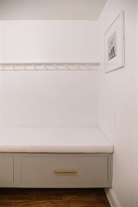 laundry room bench gray mudroom bench with drawers transitional laundry room