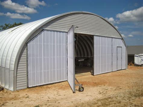 arch metal quonset hangar  unusual doors vaf forums