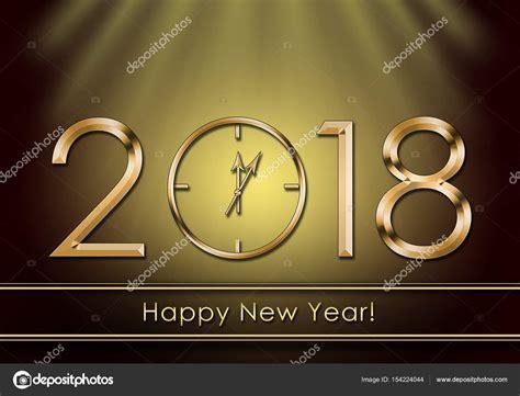 new year stock happy new year 2018 new year clock stock photo