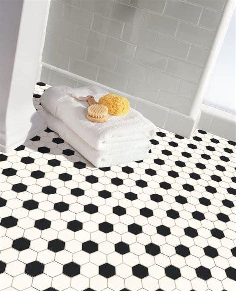 bathroom hexagon floor tile 34 white hexagon bathroom floor tile ideas and pictures