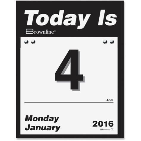 Page A Day Calendar Page A Day Calendar Calendar Template 2016