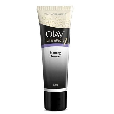 Olay Total Effect Foaming Cleanser olay total effect 7 in 1 foaming cleanser 100 gm buy at best price bigbasket