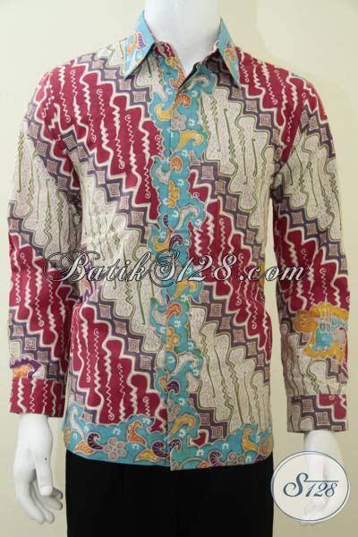 Kemeja Pria Lengan Panjang Kode 575 14 kemeja batik pria motif parang paling laris model baju batik modern 2018