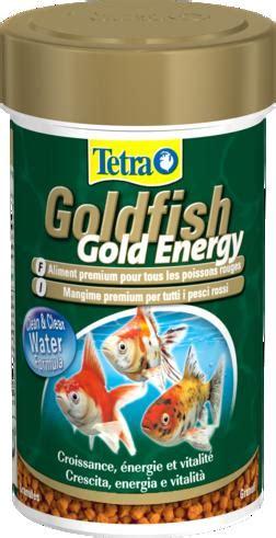 alimentazione ricca di proteine tetra goldfish gold energy 250ml aquariumline