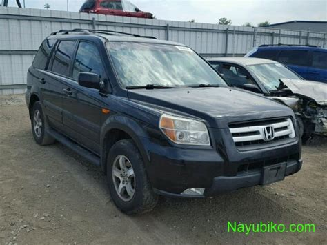 2008 Honda Pilot Jeep For Sale Auction Price Contact