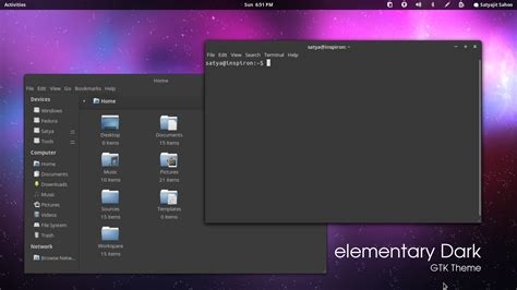 black themes for mac elementary dark theme updated for ubuntu 12 04 ubuntu vibes