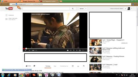 Download Youtube Pakai Ss | cara mendownload video youtube tanpa software anak ayam