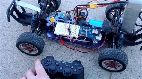 arduino tutorial rc car control an rc car with a ps3 controller arduino uno usb
