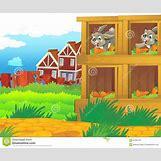 Cartoon Farm Scene | 1300 x 1088 jpeg 195kB