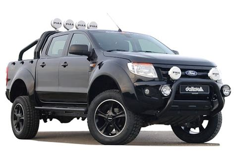 imagenes de pick up ford tuning ford ranger als pick up monster black beast autodino