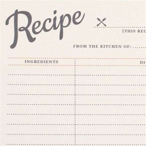 free alzheimer recipe card template vintage recipe cards printable diy and freebies