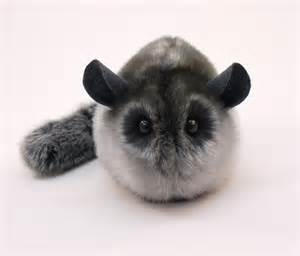 stuffed chinchilla stuffed animal cute plush toy chinchilla