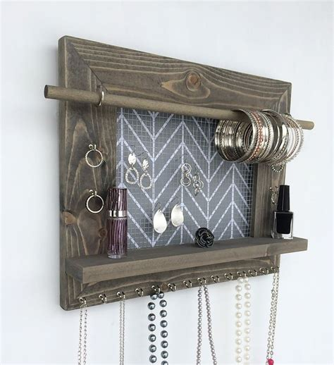 1000 ideas about hanging jewelry organizer on
