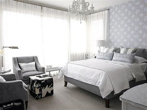 grey wallpaper bedroom ideas love of interiors grey and white bedroom