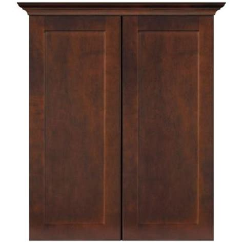 home depot bathroom storage cabinets masterbath elite shaker 24 in w bath storage cabinet in