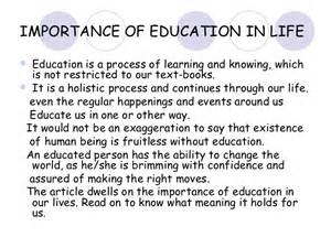 The Importance Of Education Essay by Importance Of Education