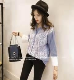 Shjt217080198543 Baju Biru Garis Baju Import baju cheongsam wanita putih model terbaru jual murah